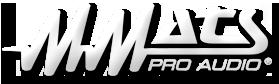 MMats ProAudio
